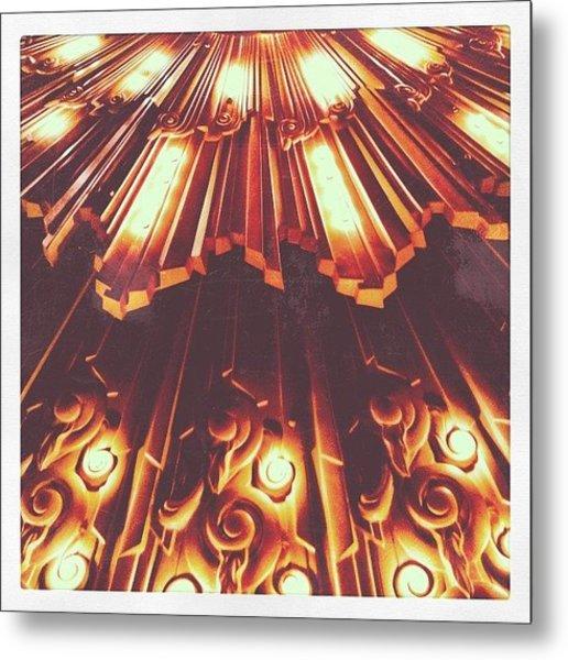 Embellished Metal Print