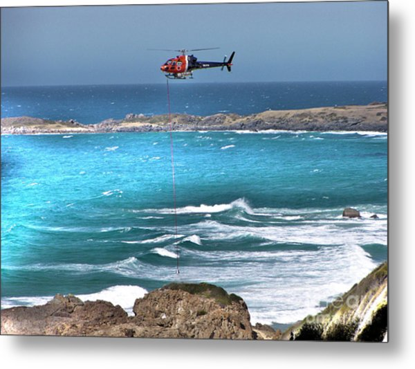 Emergency Pick Up Metal Print by Joanne Kocwin