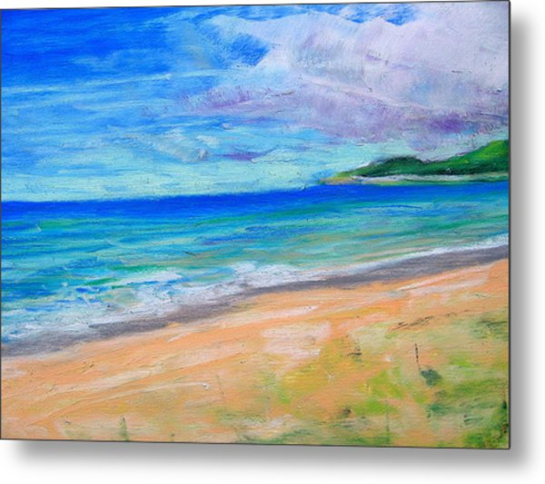 Empire Beach Metal Print by Lisa Dionne