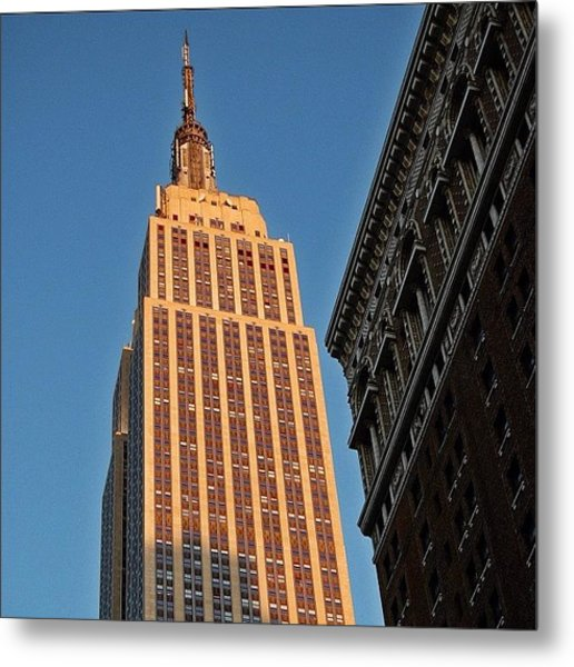 #empire #newyorker #newyork #ny Metal Print