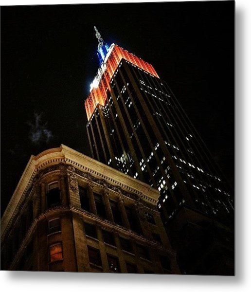 Empire State Bldg. - Ny Metal Print