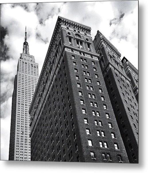 Empire State Building - New York City Metal Print