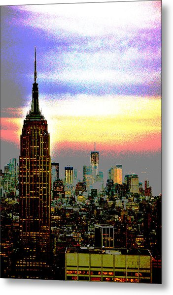 Empire State Building4 Metal Print