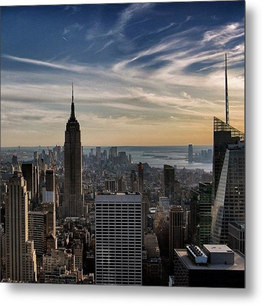 Empire State Of Mind - New York Metal Print