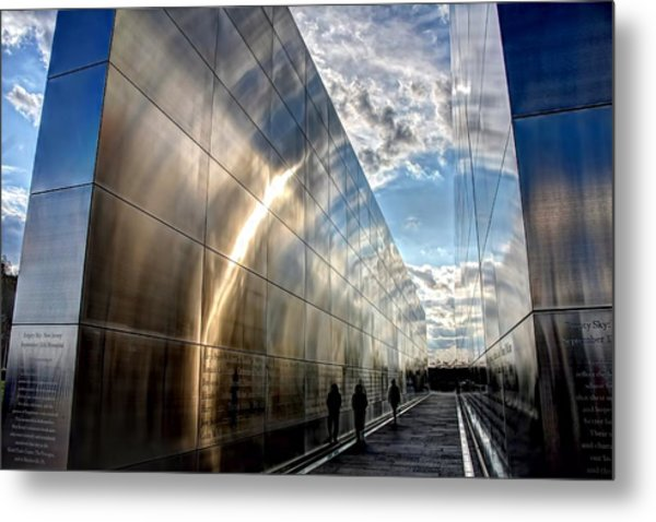Empty Sky Memorial Nj Metal Print