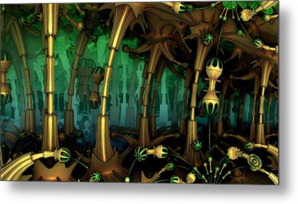 Enchanted Fantasy Forest Metal Print