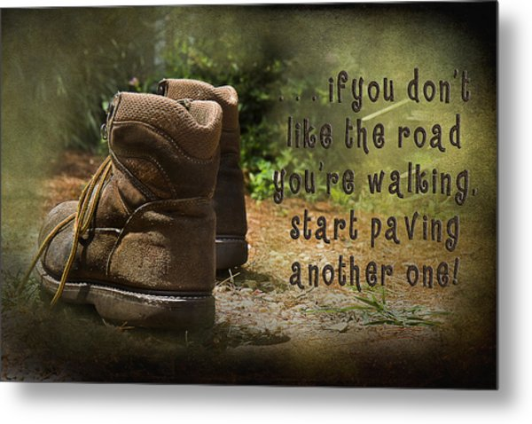 Encouragement Metal Print by Trudy Wilkerson