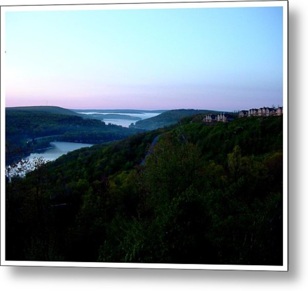 End Of A Perfect Day At Deep Creek Metal Print by Frank Wickham