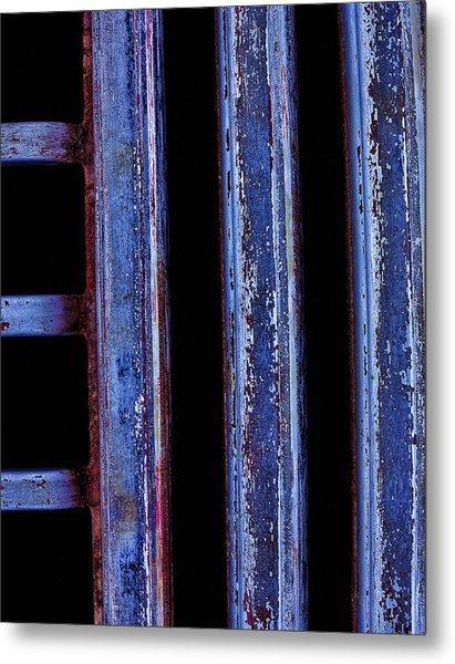 Engine Grill Metal Print