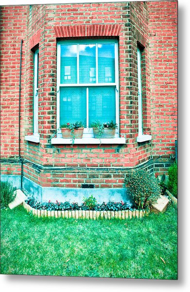 English House Metal Print