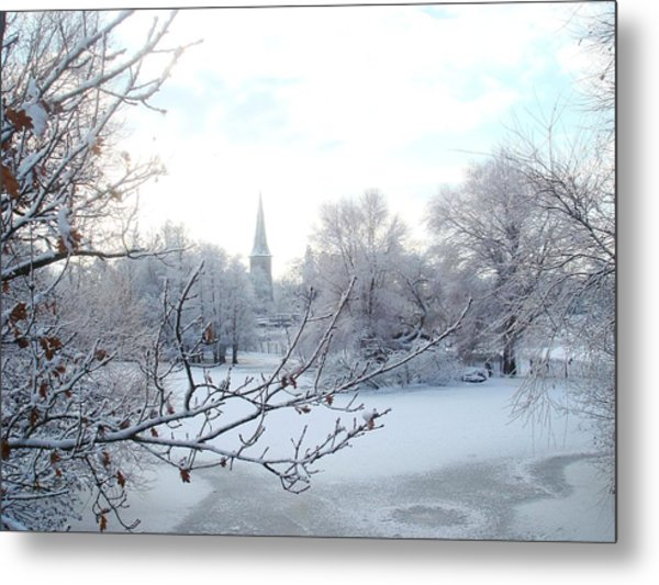 English Winter Landscape Photograph By Frank Pearson