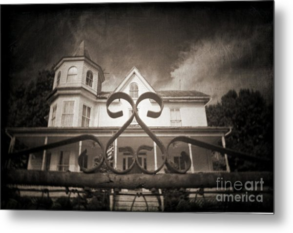 Enter If You Dare Metal Print by Jane Brack