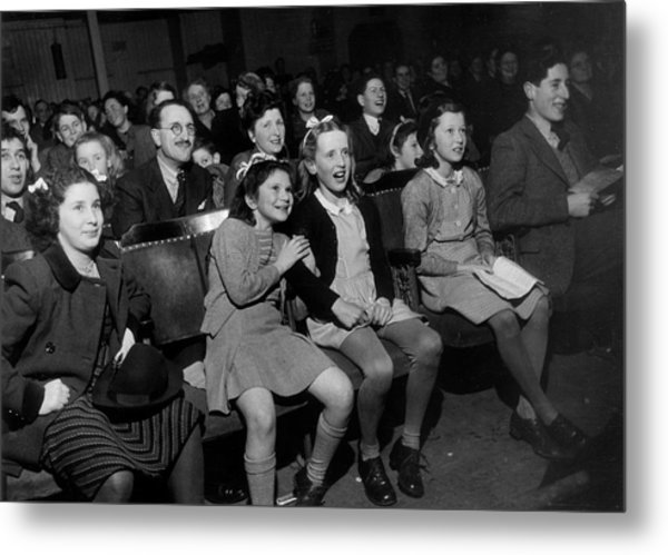 Enthralled Audience Metal Print by Kurt Hutton