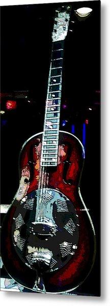 Eric Clampton's Guitar Metal Print by David Alvarez
