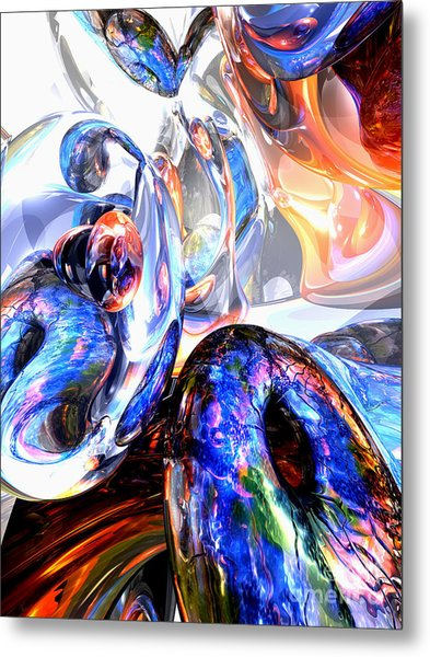 Essence Of Inspiration Abstract Metal Print