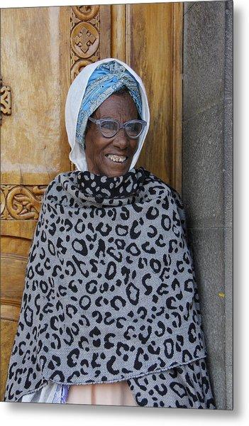 Ethiopia-south Orthodox Christian Woman Metal Print