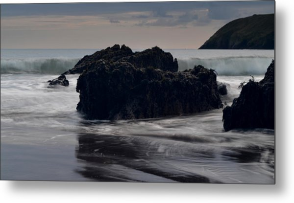 Evening Beenbane Beach Metal Print by Barbara Walsh