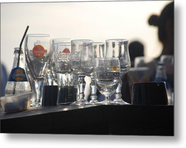 Evening Drinks Metal Print by Dickon Thompson