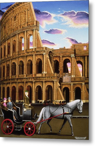 Evening In Rome Metal Print