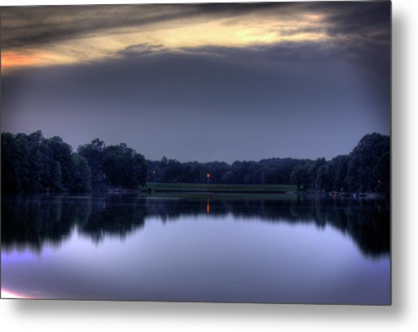 Evening Reflections Metal Print by Barry Jones