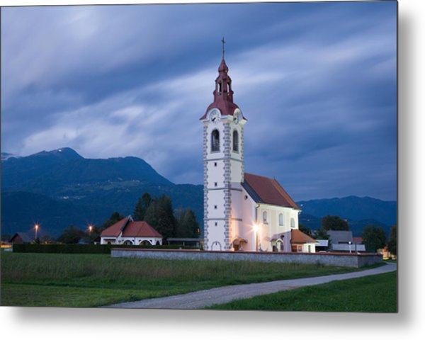 Evening Twilight Metal Print