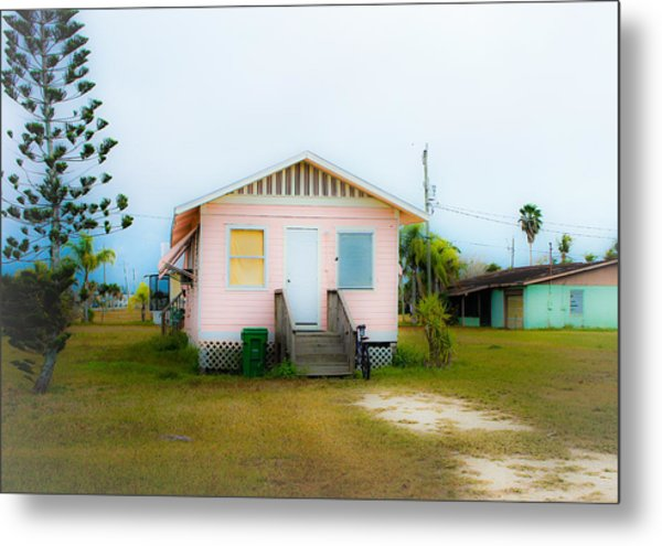 Everglades City Eye Candy Metal Print