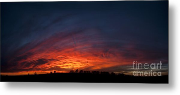 Expansive Sunset Metal Print