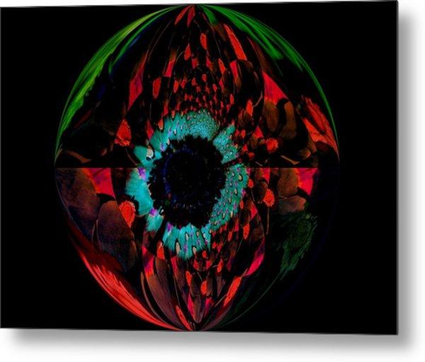 Eye Of A Peacock... Metal Print by Tanya Tanski