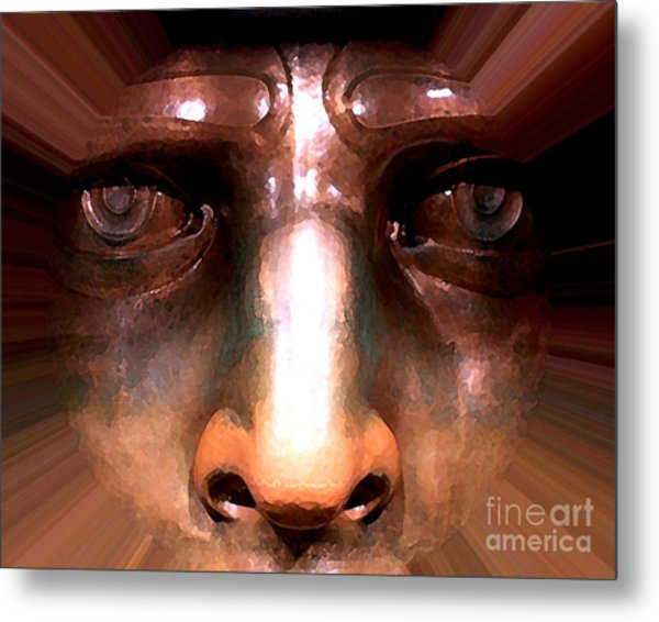 Eyes Of Liberty Metal Print