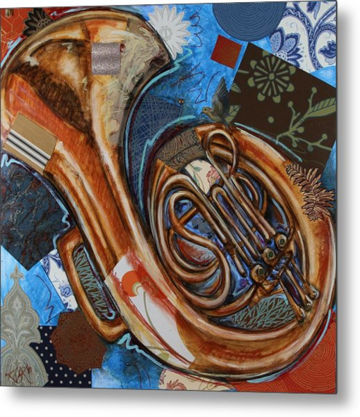 Fa The French Horn Metal Print