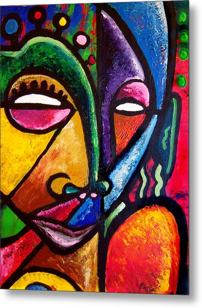 Faces Metal Print by Kevin McDowell