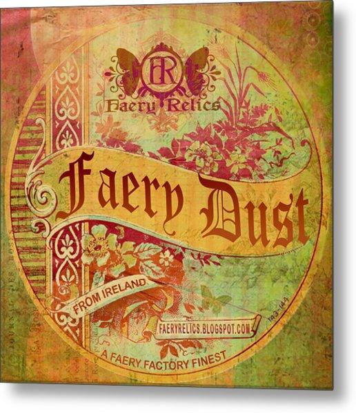 Faery Dust Metal Print