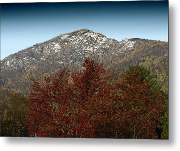 Fall Arrives At Old Rag Mountain