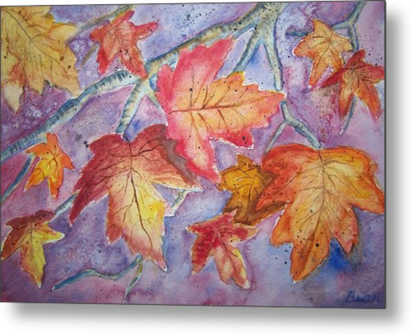 Fall In Arkansas Metal Print