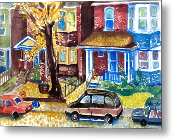 Fall In Toronto Metal Print by Mike N