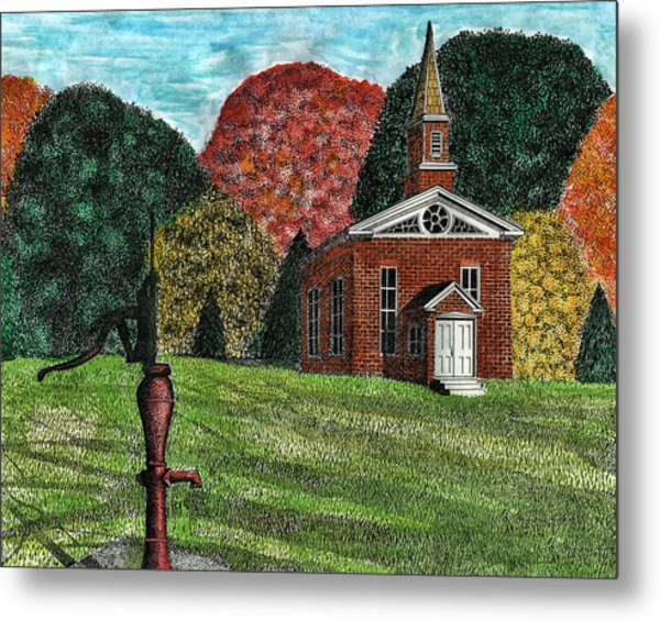 Fall Is Coming Metal Print by Mike OBrien