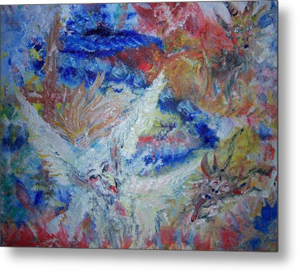 Falling From Grace Metal Print by Fawn Whelahan