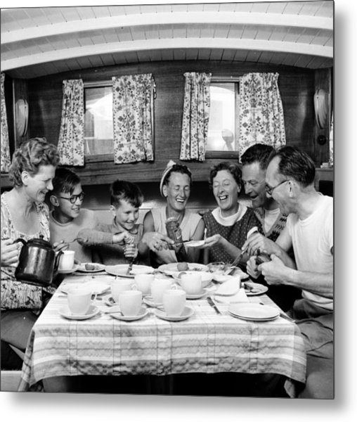 Family Fun Metal Print by John Drysdale