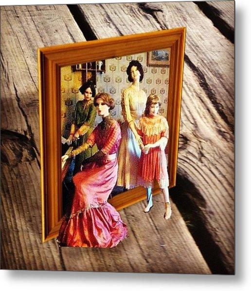 #family #outcolor #outcolor2 #portrait Metal Print