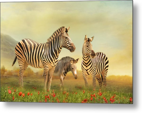 Family Ties Metal Print by Trudi Simmonds
