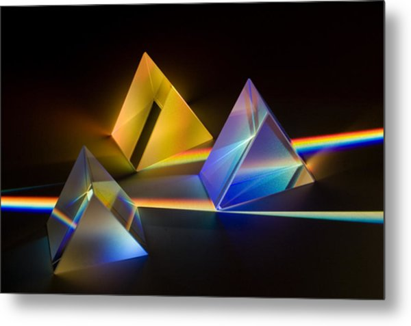 Fantastic Light 3 Metal Print