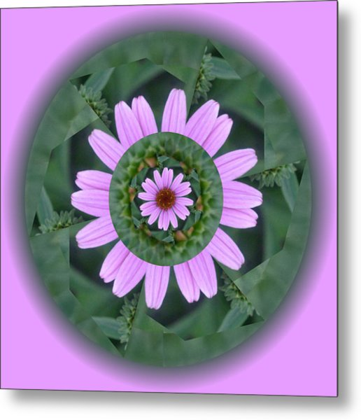 Fantasy Flower Metal Print by Linda Pope