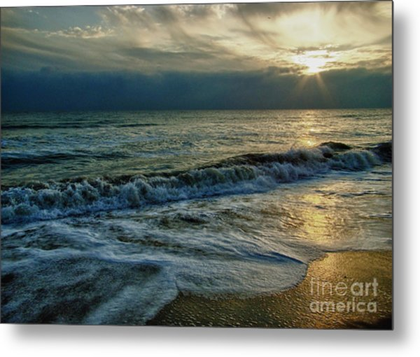 Farewell To The Sea Metal Print