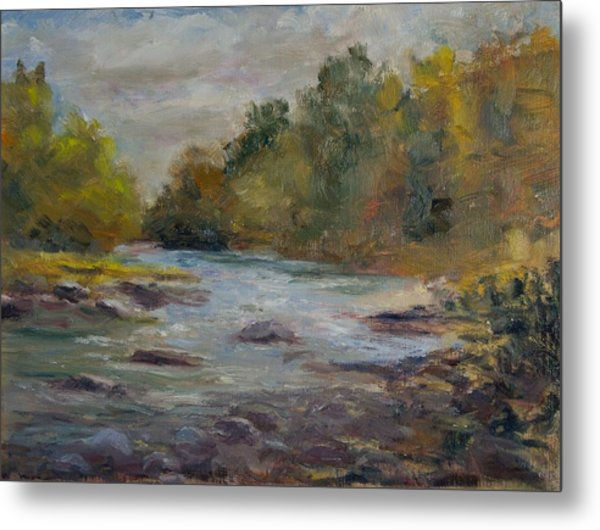 Farmington River September Metal Print