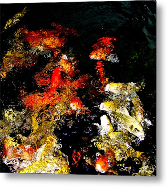 Feasting Dance Metal Print