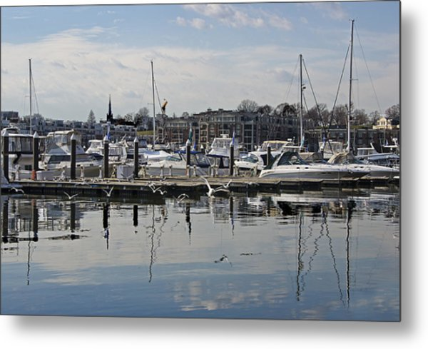 Fells Point - Baltimore Maryland Metal Print