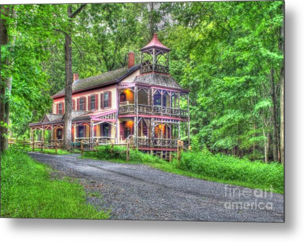 Feltville Historic District Store And Church  Metal Print by Lee Dos Santos