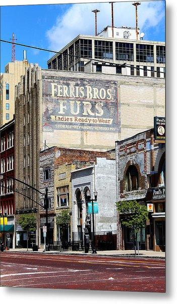 Ferris Brothers Furs Metal Print