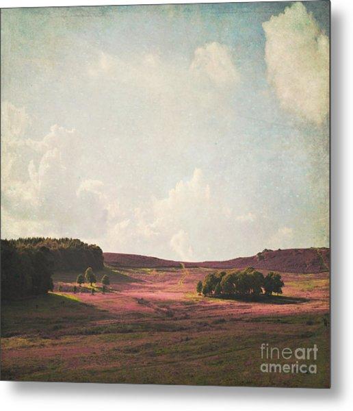 Fields Of Heather Metal Print
