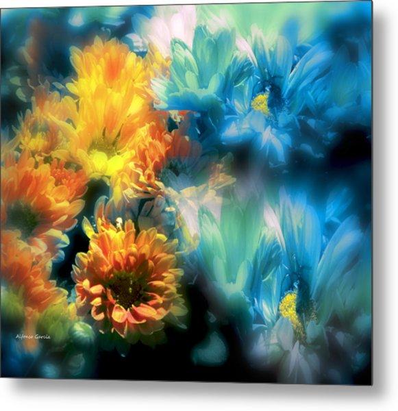 Fiesta Floral Metal Print